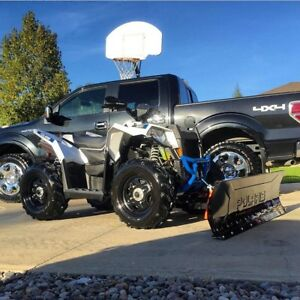 2016 Polaris Scrambler 850XP Snow Plow