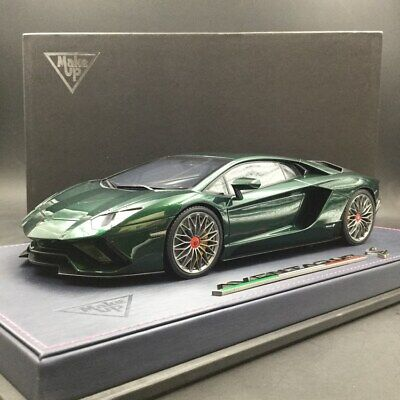Make Up 1:18 Lamborghini Aventador S 2017 Resin Car Model Replica Limited 20pcs