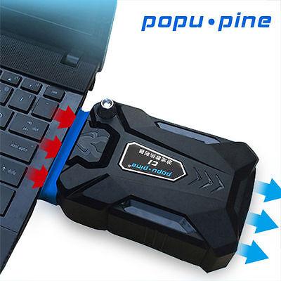 Mini USB Vacuum Air Extracting Kühler Cooling Pad Für  Notebook laptop BC489