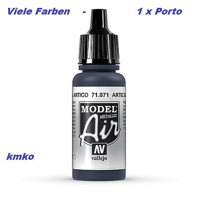 Vallejo Model Air MA 071 71071 Artic Blue 17ml 15,29 €/100ml
