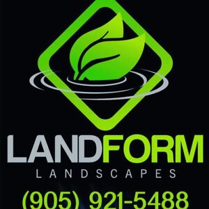 Property maintenance by Landform landscaping