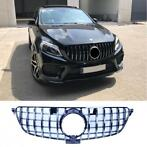 grill voor mercedes gle coupe c292 zwart chrome