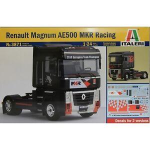 ITALERI-1-24-KIT-CAMION-RENAULT-MAGNUM-AE500-MKR-RACING-LUNGHEZZA-25-CM-ART-3871