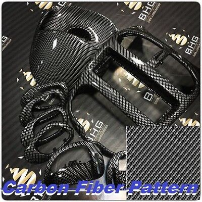 0.5m2m Water Transfer Glossy Film Hydrographic Filmcarbon Fiber Waves