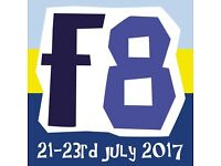 Festival 8 2017 4x tickets for sale