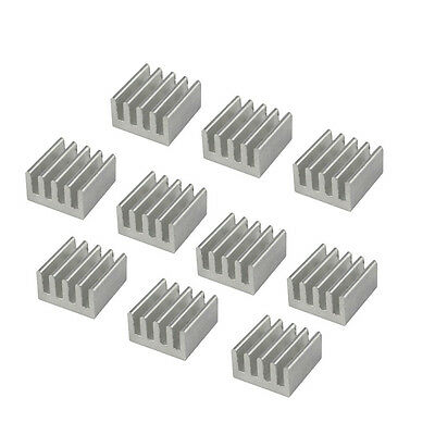 20pcs Aluminum Heat Sink For Stepstick A4988 Ic 8.88.85mm Ycmcc