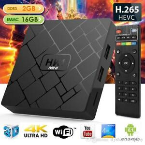 ANDROID 8.1 TV Boxes fully programmed kodi 18 add ons live tv