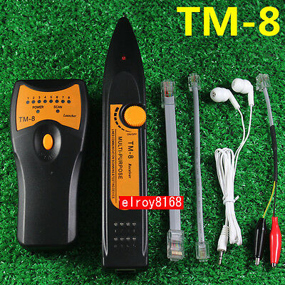 Rj45 Rj11 Network Cable Tester Scanning Testing Device Wire Tracker Cat5 Cat6 L