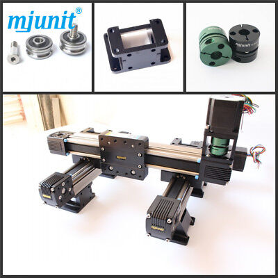 Mjunit Linear 2 Axis Cnc Machine Kit Linear Rail With 150x340mm Stroke