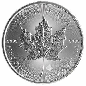 Silver on the Rise! Bullion Maple Leafs, Bars, Rounds, Gold
