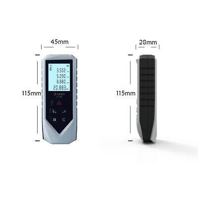 Hd Laser Distance Measurer 196 Ft60m Minftareavolume Ls-60 Digital Device