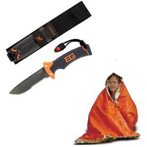 Gerber-Bear-Grylls-SURVIVAL-Ultimate-Knife-31-000751-AMK-Emergency-SOL-Blanket