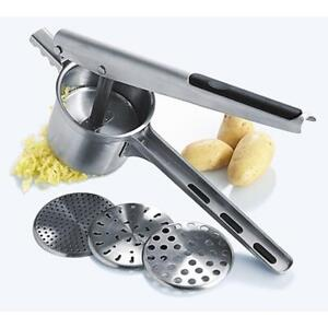 All Stainless Steel Potato Press Ricer Mashed Potato Maker 211002