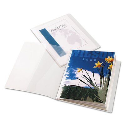 Cardinal Clrthru Showfile Presentation Book W12 Lettersize Sleeves Clear