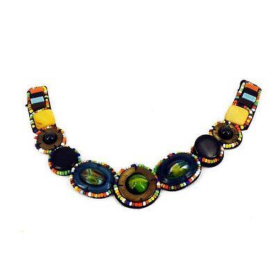 Patch Sewing bag Decoration Inca Kuchi Afghan Banjara Tribal beads AF24