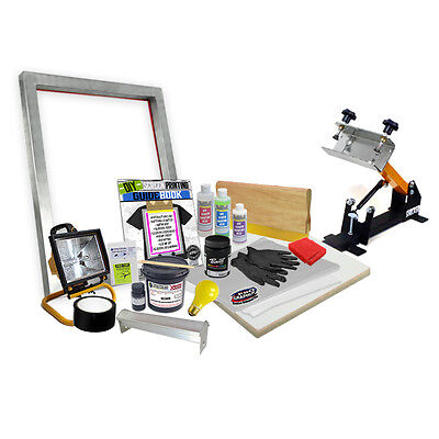 Diy Shocker 101 Press Screen Printing Starter Beginner Kit - 11-4