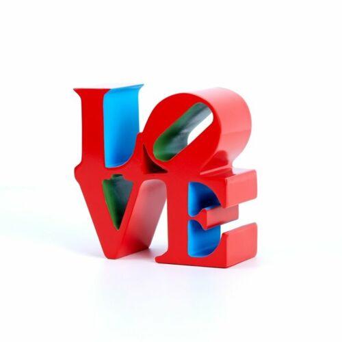 Love  - Robert Indiana - Red - Edition /500 + original BOX + Numbered -