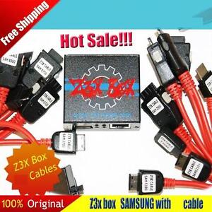 Z3X Samsung Unlock Box + Card + SAMS-PRO Activation + Cables for Note S4 S5 S7