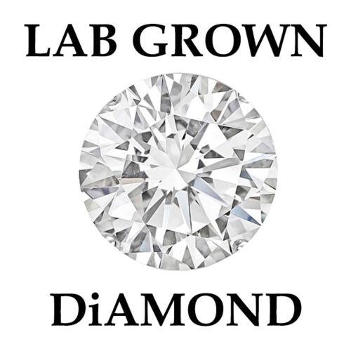 USA Lab Certified Diamond 0.30 Carat E Color Full White VVS1 Round Brilliant Cut