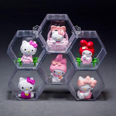 Set of 6 Pcs Hello Kitty Halloween set pvc figures kid gift xmas gift