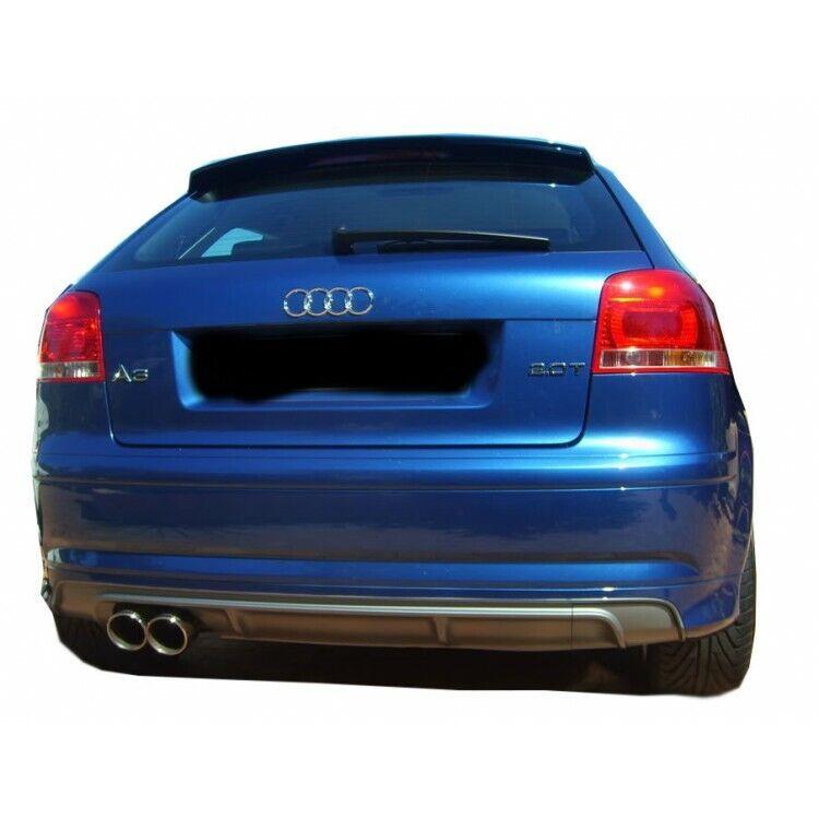 Audi A3 8p S3 2005 - 2008 2 Door, Rear Bumper Extension ...