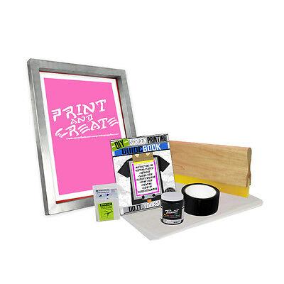 Diy Bare Bones Kit With Print N Create Screen Printing Starter Beginner 00-2
