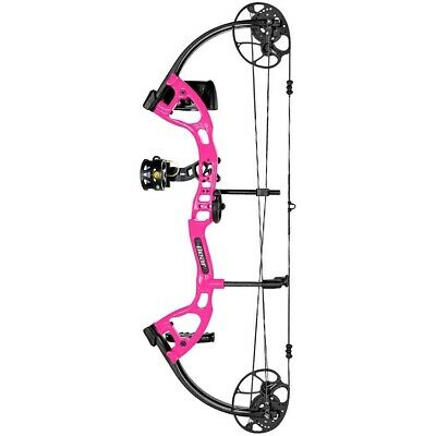 Bear Archery CRUZER LITE PINK RH RTH PACKAGE 5-45 LB. TRADE SHOW SAMPLE !