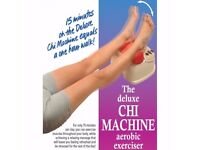 Machine with Infrared Foot Massager aerobic exerciser... AS NEW CONDITION USED TWICE ONLY
