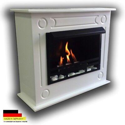 Gelkamin Ethanolkamin Kamin Fireplace Cheminee Camino Loris XL Premium Hochglanz