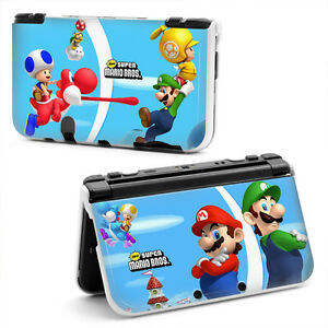 Mario bros hard case cover for new nintendo 3ds xl feb for Housse 2ds mario