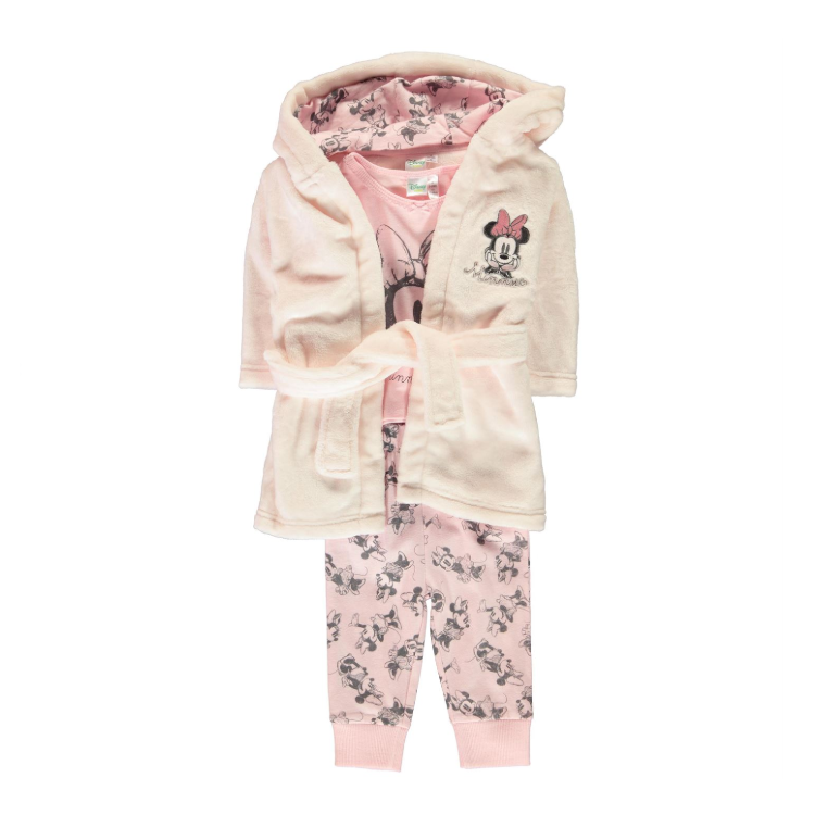 Lot pyjama + robe de chambre MINNIE