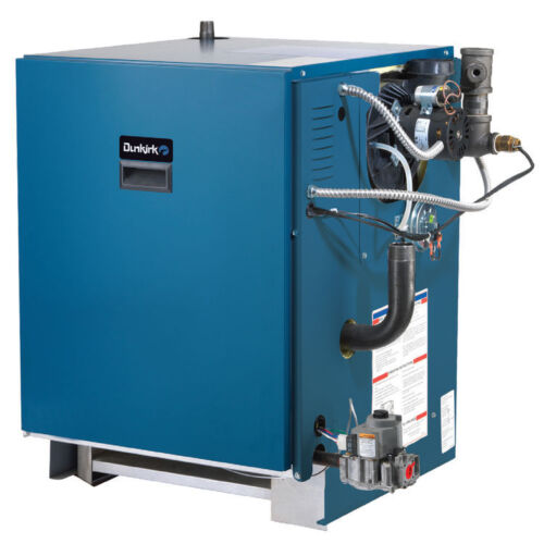 Dunkirk Xeb-7 Cast Iron Lp Boiler Afue 82% 225,000 Btuh Power Vented