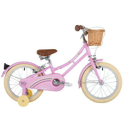 "Bridgford Rainbow 16"" Wheel Girls Bike With Basket, Ages 4 - 6"