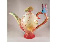 Franz Disney Alice In Wonderland Teapot