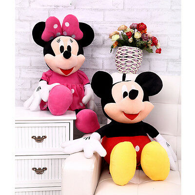 Studio Mickey Mouse Clubhouse Mickey & Minnie Plush Soft Toy Animal - Plush Mouse