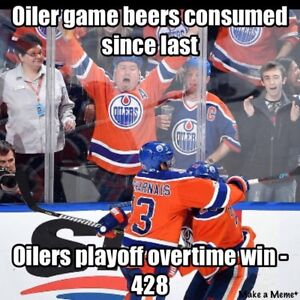 Oilers Tickets- this could be you
