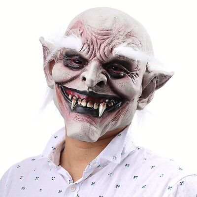 Scary Latex Vampire Mask Horror Devil Cosplay mask Halloween Party Costume Prop ()