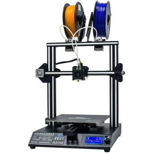 3D Printer Geeetech A20M  2 in 1 out Extruder Mixing color F