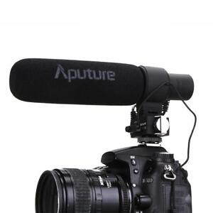 Aputure v-mic d2 condenser shotgun mic for video