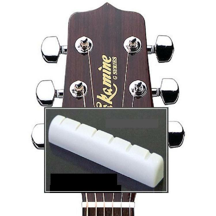 FREE SHIPPING~GeetarGizmos SLOTTED BONE NUT for Takamine Guitar