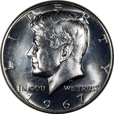 USA Silver 50 Cents 1967 Choice Prooflike