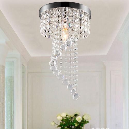 Rain Drop Ceiling Crystal Light Fixture Pendant Lamp Ball
