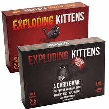 Super Cheap Brand NEW EXPLODING KITTENS NSFW & ORIGINAL Maroochydore Maroochydore Area Preview