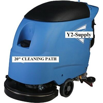 New Electric Auto Floor Scrubber 20 Cleaning Path - Corded