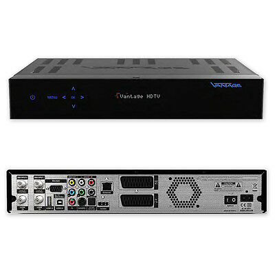 Sat Receiver Vantage HD 8000 Twin S PVR  HDTV USB PVR ready 2x CI
