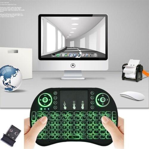 Smart mini slim clavier sans fil avec pavé tactile souris pour pc android tv box