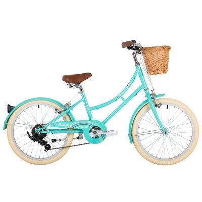 "Bridgford Rainbow 20"" Wheel Girls Bike With Basket, Ages 6 - 8"
