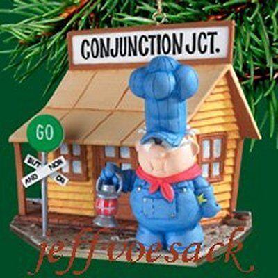 "School House Rock  ""Conjunction Junction"" Carlton ornament"