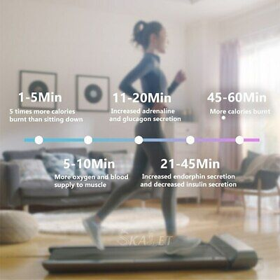 Home Use Smart Folding Walking Pad Treadmill Walking Sports Jogging Machine comprar usado  Enviando para Brazil