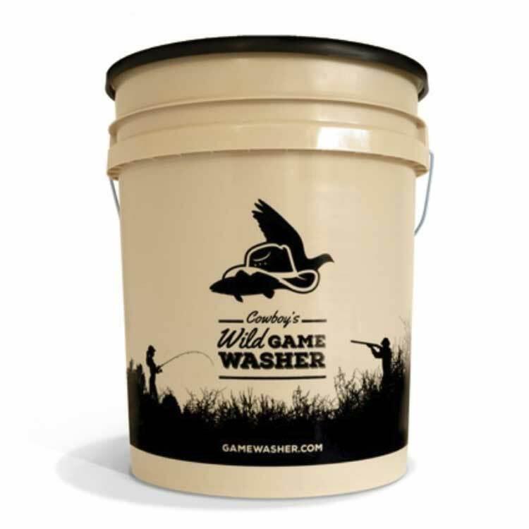 Cowboys Wild Game Washer Cowboys 5-Gallon Wild Game Washer